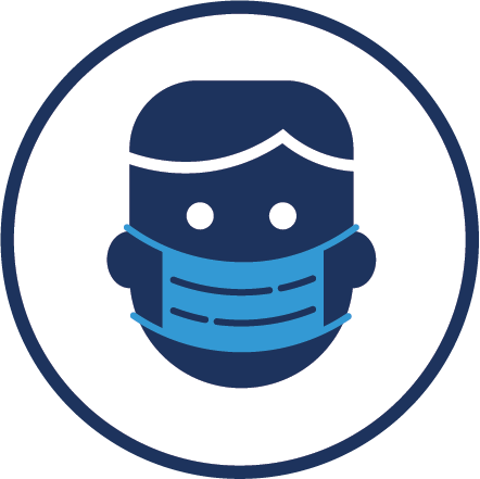 COVID-19 DHMD Testing Site Mask Icon
