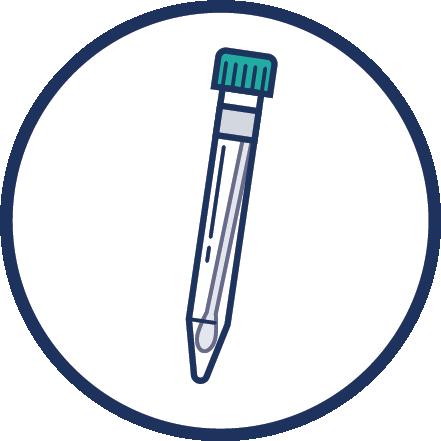 COVID-19 DHMD PCR Swab Icon